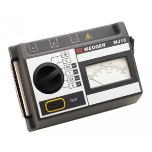 Megger MJ15 – Insulation Tester 20GΩ CAT I 600 V, CAT III 300 V