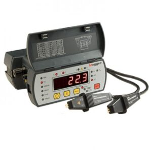 Megger DLRO10 Rechargeable NiMH Ohm Meter – Maximum Resistance Measurement 2000 Ω, Resistance Measurement